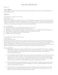 Objective In Resume For Job Sample Job Objective For Resume Resume ...