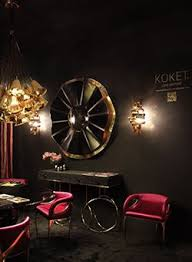modern perfect furniture. Koket With Burlesque Console Rve Mirror Gia Chandelier And Chandra Dining Chair At Modern Perfect Furniture