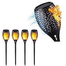 Popular <b>Solar Flame</b> Flickering Garden Lawn Lamp <b>Led</b> Torch-Buy ...