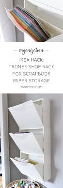 Use this IKEA Hack: Trones Shoe Holders are the