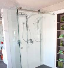10mm frameless opto sliding shower