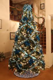 Stunning Inspiration Ideas Blue Silver Christmas Decorations Amp White And