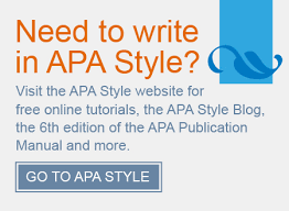 Apa Style How To Apa Style Resources
