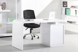 modern white office desks. Plain Desks Modern Office Desk White With S005 Built In  Bookshelf High Gloss On Desks I