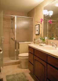 small bathroom wall mirrors. Beautiful Small Bathroom Design With Glass Door Shower Room And Large Wall  Mirror Idea Small Bathroom Wall Mirrors