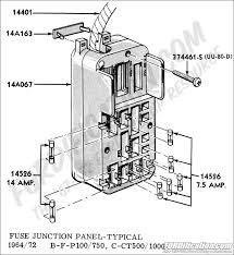 ford truck technical drawings and schematics section i  at 1972 F100 Wiring Diagram Site Fordification Com