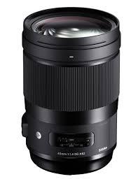 D90 Lens Compatibility Chart 40mm F1 4 Dg Hsm I Art Refurbished