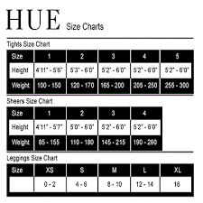 Hue Control Top Tights Size Chart 15 Hue Brand Opaque Tights Black Regular Plus Sizes 1 2 3