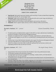 administrative-assistant-resume-elizabeth-torres