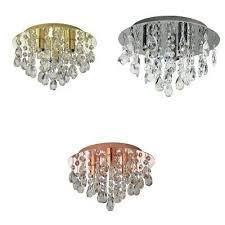 argos home ivy glass drop ceiling light