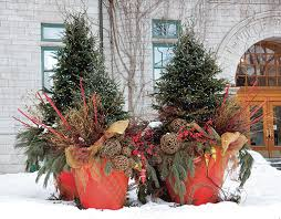 76 Best Holiday Containers Images On Pinterest  Christmas Container Garden Ideas For Winter