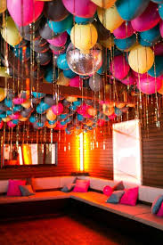 Fun wedding inspiration that would work for cool party too!