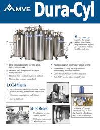 Chart Liquid Cylinders Dura Cyl