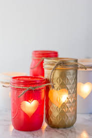 How To Decorate Candle Jars Painted Mason Jar Votive Holders Wholefully 53