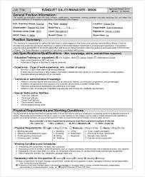 40 Catering Resume Templates PDF DOC Free Premium Templates Classy Catering Resume