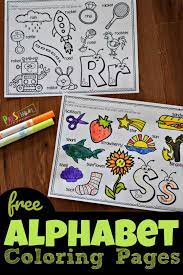 Printable alphabet activity worksheets for toddlers & preschool. Free Alphabet Coloring Pages