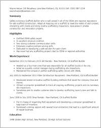 resume templates scaffold builder builder resume