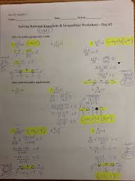 solving radical equations and inequalities worksheet answers 5 8