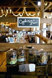 creative bar ideas creative cookie bar for rustic barn weddings creative bar mitzvah gift ideas