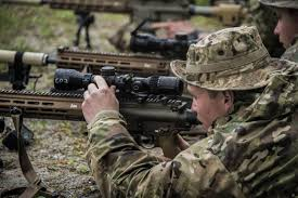 us army u s army airborne snipers testing newest precision rifle