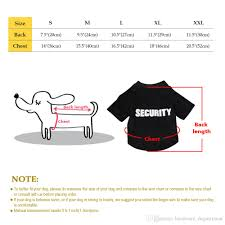 2019 Summer Dog Clothes Small Dogs T Shirt Puppy Clothing Chuihuahua Pug Medium Pet Summer Vest Black Orange Colors S Xxl From Hardware_department