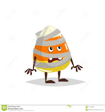 single candy corn vector. Perfect Corn Download Cartoon Candy Corn Costumed Character Mummy Zombie Costume  Halloween Humanized Sweet Symbol For And Single Vector S