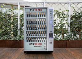 Champagne Vending Machine London Beauteous A Moët Chandon Vending Machine Is Coming Inside Gold Coast