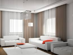 White Leather Chairs For Living Room Living Room Chic White Leather Sofa With Orange Accent Pillow And