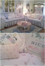 easy diy ruffled sofa slipcover