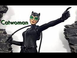 Mezco Toyz One:12 Collective DC CATWOMAN SELINA KYLE Action Figure Toy  Review - YouTube