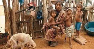 Resultado de imagen para niños guajira hambre