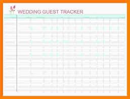 Wedding Guest List Template Excel Download 10 Free Wedding Guest List Template Excel Marlows Jewellers