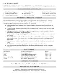 Magnificent Project Administrator Resume Pictures Inspiration