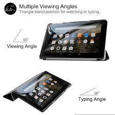 Dành Cho Máy Đọc Sách Kindle Fire HD 8 Máy Tính Bảng Nhẹ Mỏng Vỏ Có Chân  Đứng|case for amazon fire|case for tablet 8case for tablet - AliExpress