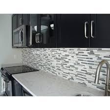 view larger image bliss iceland marble linear mosaic glass tile for kitchen backsplash bathroom walls