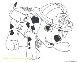 Free Paw Patrol Coloring Pages Marshall Page 8531059 Attachments
