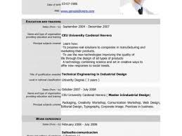 Free Student Resume Templates Microsoft Word And Free Download Cv ...