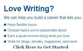work from home doing online writing jobs part time to full time lance writing work