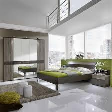 Schlafzimmer Komplettset Nevrin In Grau Braun Trüffeleiche 4 Teilig