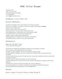 Resumes For Bank Jobs This Is Resume For Bank Teller Resumes For ...