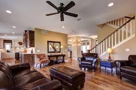 Family room; open floor plan contemporary-living-room