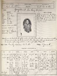 faces of the victorian underworld they re the first criminal the book of mugshots is currently on display in the bedfordshire and luton archives and records centre the uk s first local record office