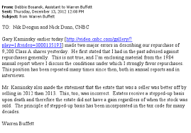 Warren Buffet Email To Cnbc Goodorbademail Com