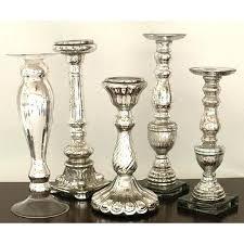 silver pillar candle holders mercury glass candle holders silver candlestick holders whole silver mercury glass pillar