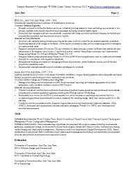 Software Examples For Resume. 19 Software Development Resume ...