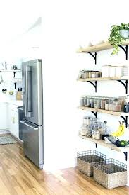 how to decorate kitchen walls wall decor ideas decorative shelves decorating for pot full size