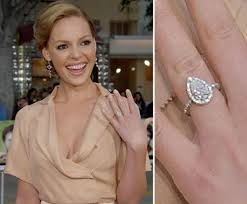 celebrity cluster engagement rings
