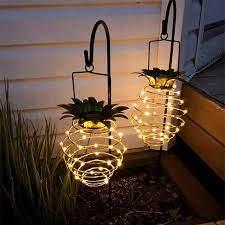 acheter solar garden lights ananas