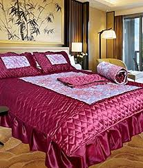 Small Picture Buy Chelsi Home Dcor Designer Satin Wedding Bedding Set set of