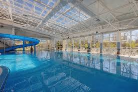 indoor pool with waterslide. Hotel Augusta: Indoor Pool And Waterslide, Augusta SPA With Waterslide A